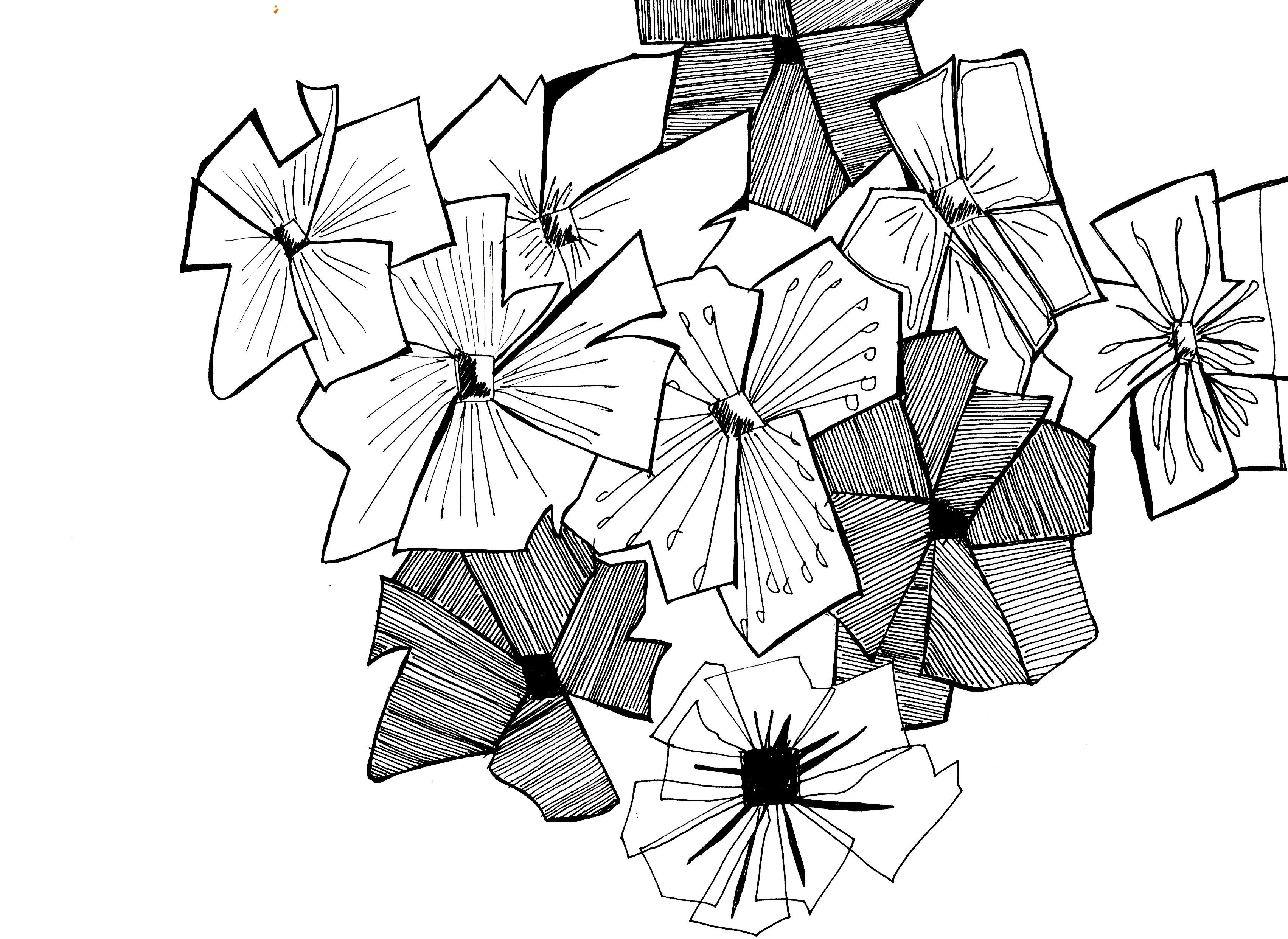 fleur-graphique