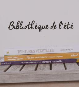 livre sur la teinture végétale