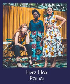 livre wax mango édition Amélie Thomas et Jessica Brisac