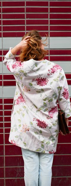 Amélie Thomas free lance des métiers de la mode styliste, modéliste, designer textile, à Paris